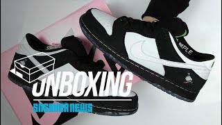 panda pigeon sb dunk review unboxing