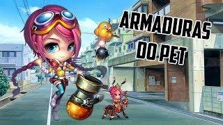 DDTANK MOBILE BRASIL (BOMB-ME) ARMADURAS DO PET INICIO AO FIM #5
