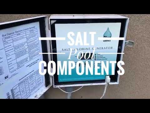 Salt Water Pool Equipment