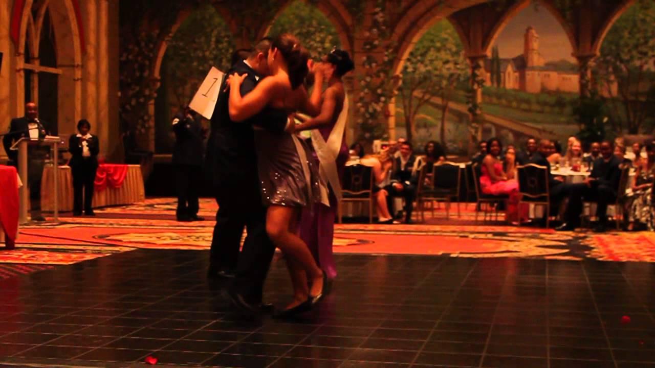 JROTC Military Ball Dancing