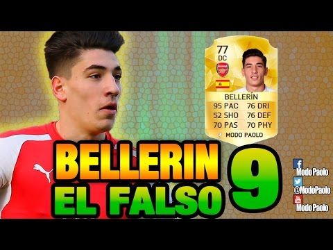 EL FALSO 9   HECTOR BELLERIN DC - ST   FIFA 16    Modo Paolo