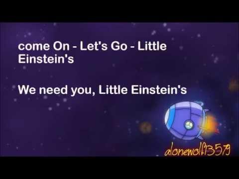 Little Einstein's Lyrics