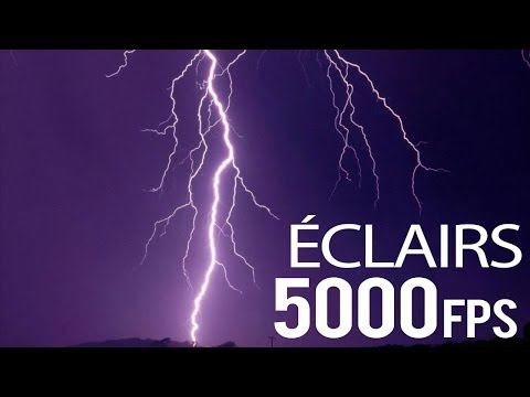 Download Youtube: Éclairs France 5000 FPS - SUPER Slow Motion