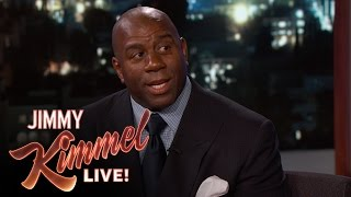 Magic Johnson Once Trash-Talked Michael Jordan