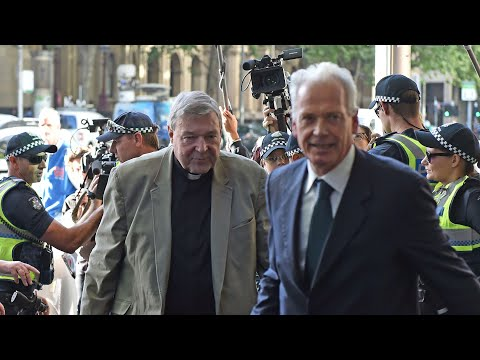 Pell committal hearing: cardinal arrives at Melbourne court