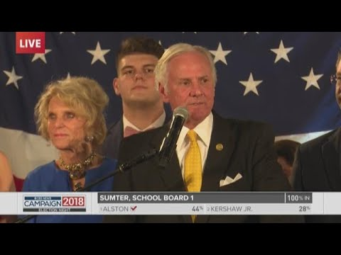 Henry McMaster victory speech in South Carolina governor's race: Full speech