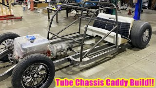 The '61 Caddy Drag Car is Back! RollCage and Rearend Install: Finnegan's Garage Ep. 125