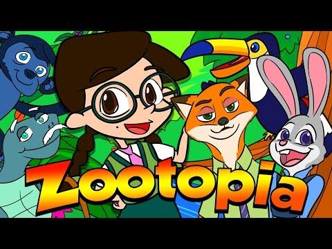 Zootopia! All About Zoo Animals Around the World | Nikki