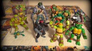 Черепашки Ниндзя Игрушки - TMNT- Черепашки ниндзя и Рокстеди - разные игрушки