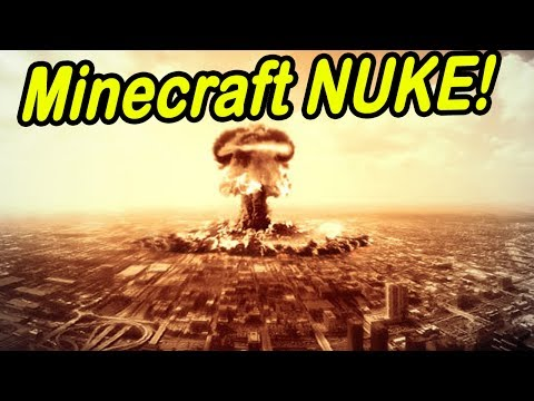 Minecraft | CITY NUKED! | MASSIVE NUKE ON CITY!