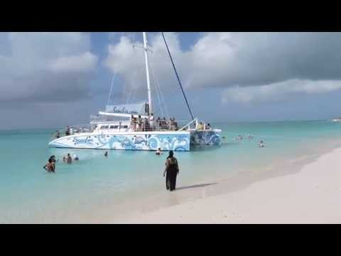 Gorgeous White Sand Beach Excursion off Kitty Katt Catamaran Beachs Turks & Caicos