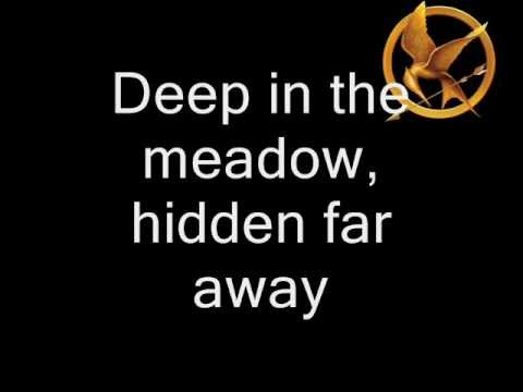 Deep in the Meadow - Lullaby (lyrics) - The Hunger Games Movie (2012)