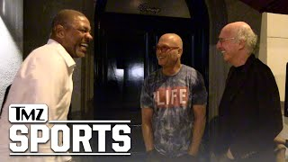 Larry David Hilariously Mocks Howie Mandel with Assist from Doc Rivers | TMZ Sports