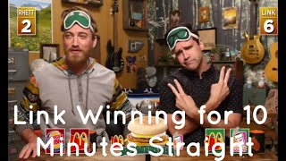 Link winning for 10 minutes Straight (GMM)