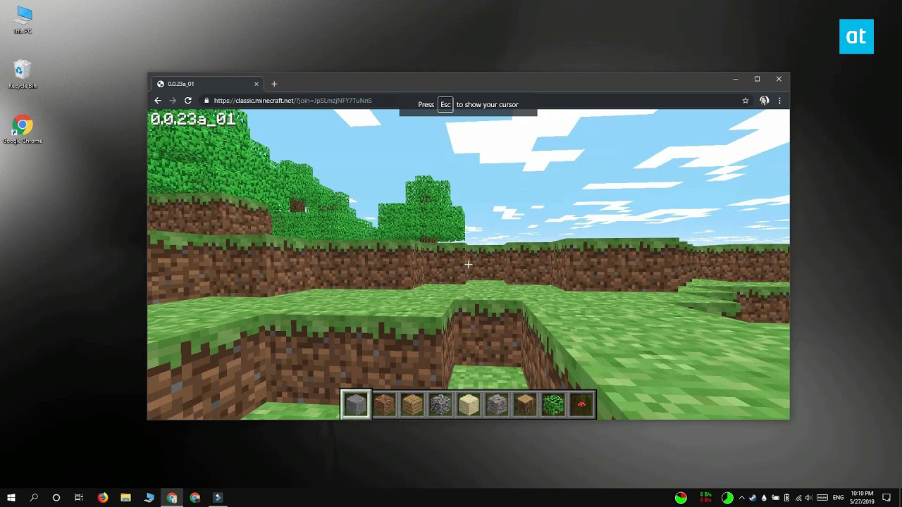 How to play classic Minecraft in a browser - YouTube