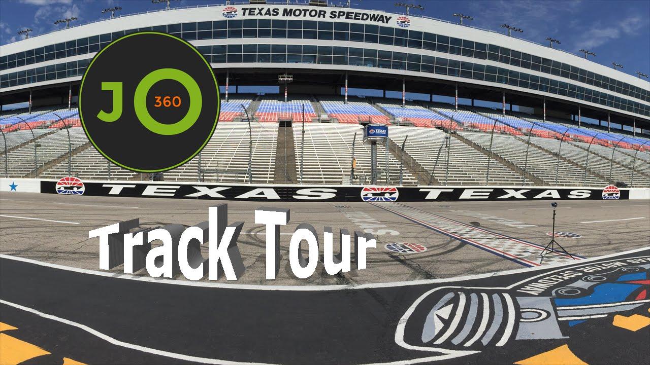 360° 4K Texas Motor Speedway | Track Tour