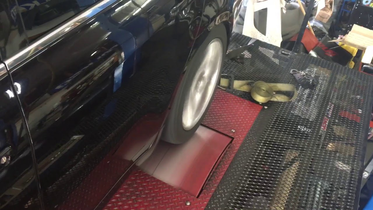G37 dyno pull w/ Motordyne longtube headers