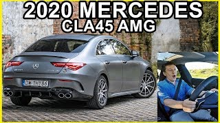 Bestia w skórze gentlemana - Najnowszy Mercedes CLA45 AMG 390HP !