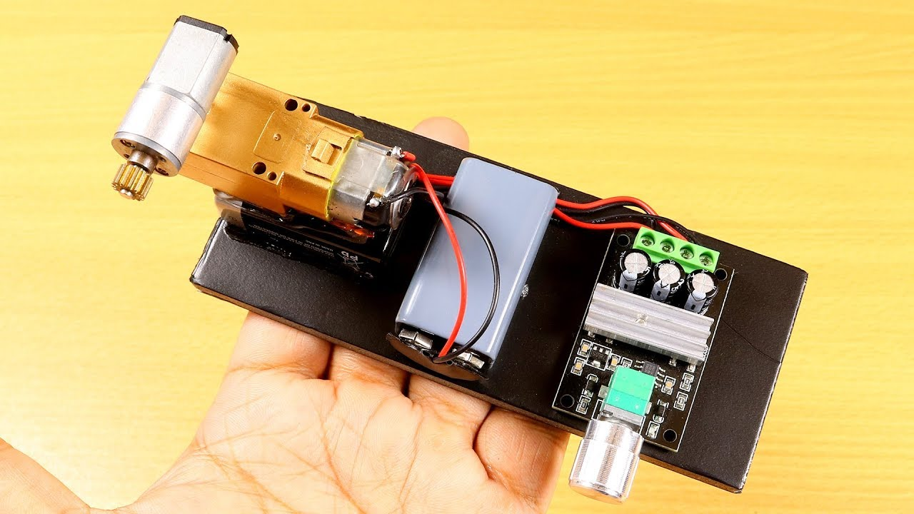 Simple Invention with DC Motor - Dc Motor Life Hacks
