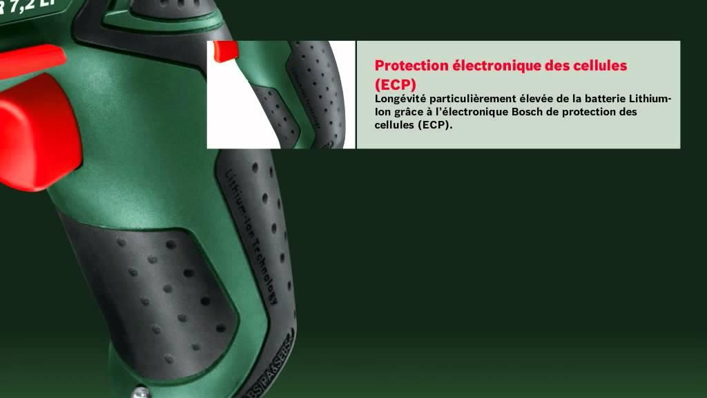 bosch - visseuse sans fil (7.2v) - psr 7 2 li