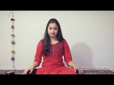 Shastriya Raga : Sa pa sa
