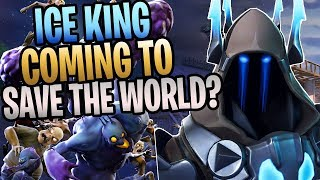"FORTNITE - New ""Ice King"" Hero Coming To Save The World? (Item Reset Feature, Patch 7.20)"