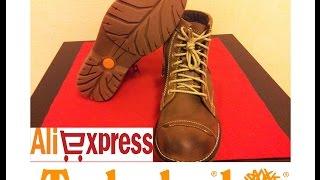 Мужские ботинки с сайта Алиэкспресс. Timberland.(Отличные кожаные мужские ботинки из Китая. Качество мега супер. Заказывал на сайте aliexpress. Лучшая покупка...., 2014-11-05T12:31:32.000Z)