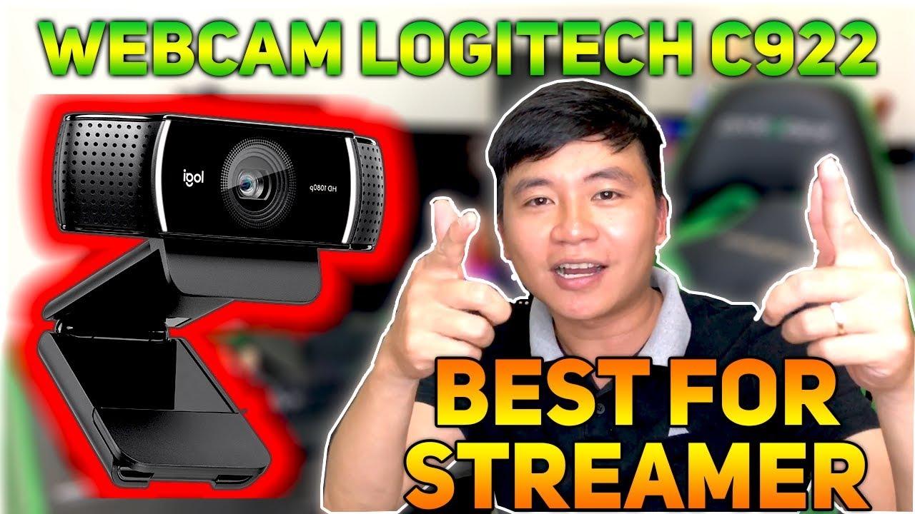 Trên tay Webcam Logitech C922 Pro Stream - Sản phẩm tốt nhất cho streamers