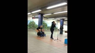 Delancey & Essex St. NYC Subway Singer