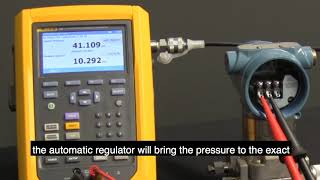 How To Perform a Pressure Calibration Using the Fluke 729