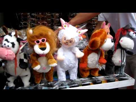 Crazy Dancing Stuffed Animals