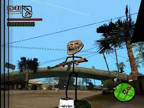 Como Descargar e Intalar Mods Troll Para GTA San Andreas