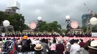 yosakoiソーラン 2011 06 11 土 西8丁目 早稲田大学 踊り侍
