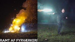 FYRVÆRKERI SPRÆNGER I MIN HÅND.. *GIK GALT*