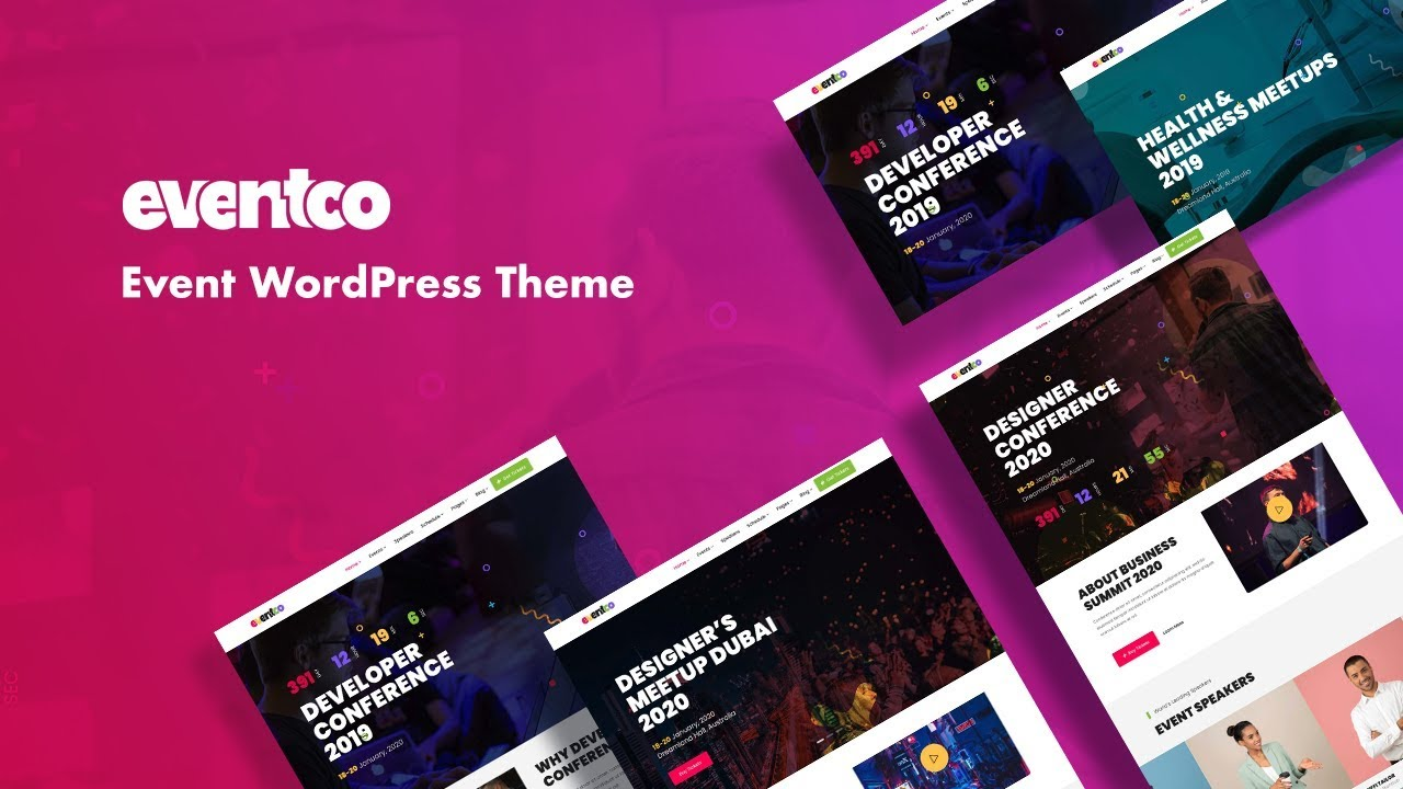 Eventco - Event WordPress Theme for Conference and Meetup Sites