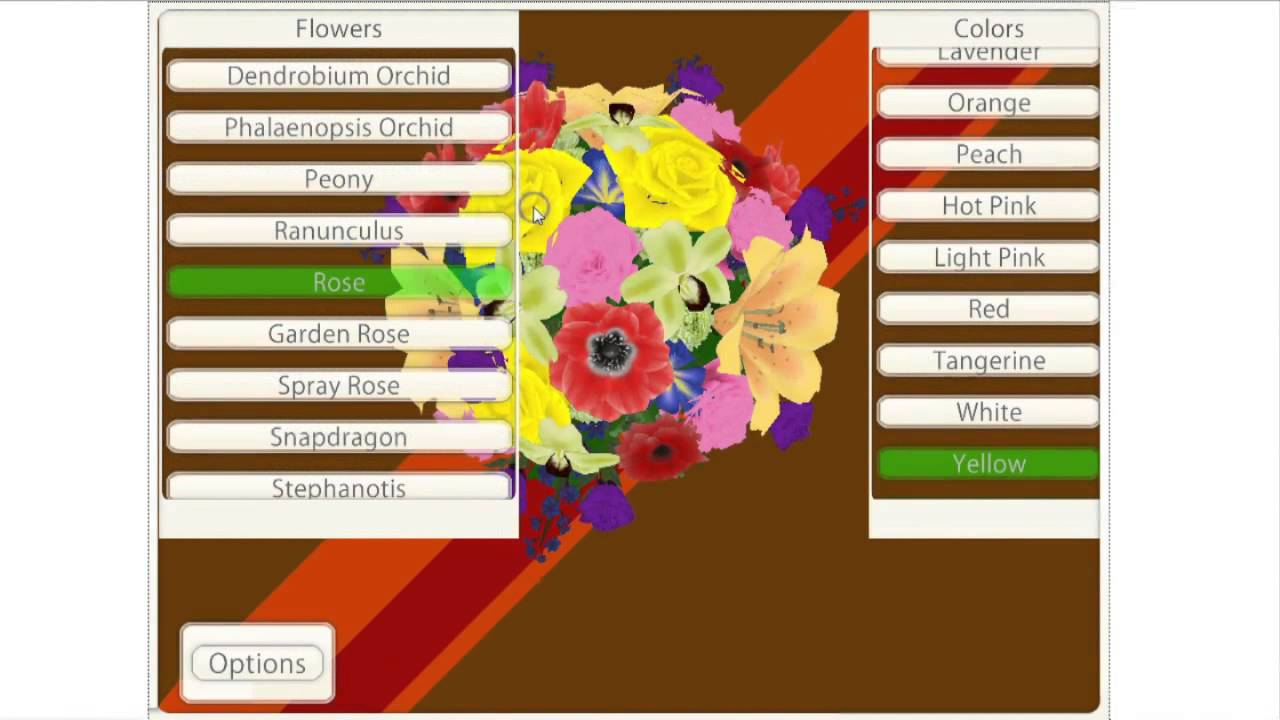 Bouquet Bridal Builder - Virtual Online Tool To Help You Create The ...