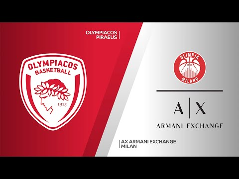 Olympiacos Piraeus - AX Armani Exchange Milan Highlights | Turkish Airlines EuroLeague, RS Round 3