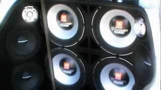 4 Selenium Tornado JBL 5000w
