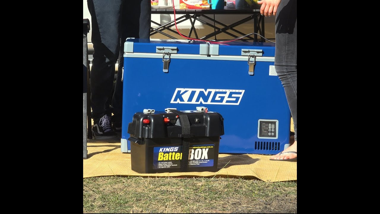 4Wd Supacentre Jump Starter run your adventure kings fridge with the battery box!