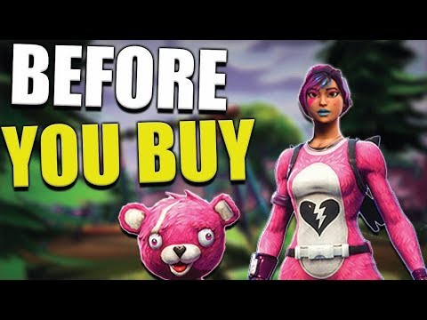 Before You Buy - Cuddle Team Leader - Fortnite