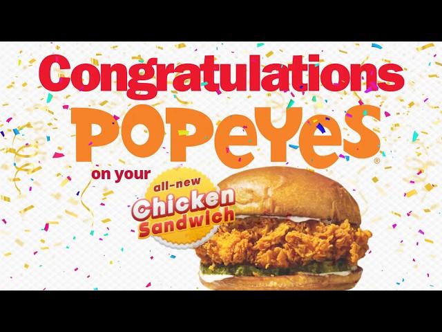 AYRKING CUSTOMER APPRECIATION: Popeyes Louisiana Kitchen