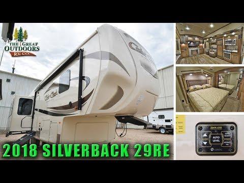 2018 CEDAR CREEK  Rear Living SILVERBACK 29RE Colorado Fifth Wheels