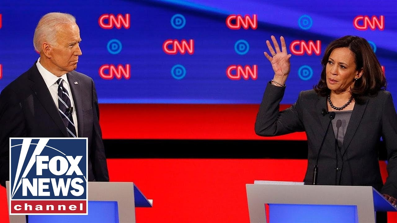 Joe Biden and Kamala Harris go head-to-head on health care during presidential debate
