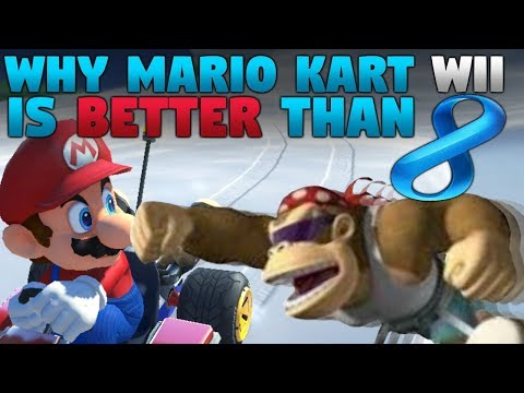 Why Mario Kart Wii is BETTER than Mario Kart 8