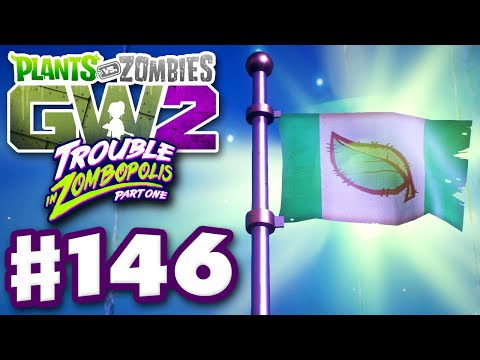 Plants vs. Zombies: Garden Warfare 2 - Gameplay Part 146 - 4 Player Flag of Power! (PC)