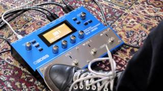 BOSS SY-300 Guitar Synth Demo