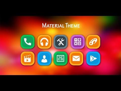 CM Launcher Theme Material Designed
