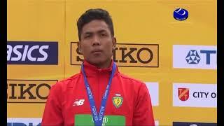 Merinding Lagu Indonesia Raya Berkumandang di Finlandia, Detik-detik Penyerahan Medali M Zohri