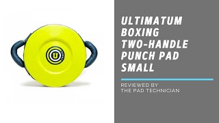 Ultimatum Boxing Two-Handle Punch Pad Small review