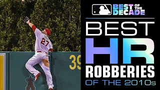 Best Home Run Robberies of the Decade | Best of the Decade